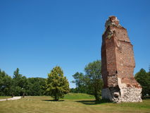 Castle in Rytwiany, Poland Stock Photography
