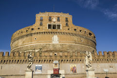 Castle s. angelo forttress vatican Royalty Free Stock Photo