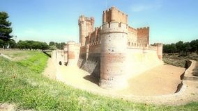 The Castle of the La Mota or Castillo de La Mota is a medieval fortress, located in the town of Medina del Campo, province of Vall. The castle`s main feature is stock footage