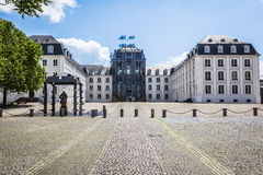 Castle Saarbruecken Royalty Free Stock Photos