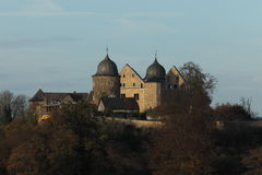 Castle Sababurg in Germany Stock Images