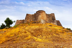 Castle of Sagunto in summer Stock Image