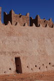 Castle in the Sahara Stock Images