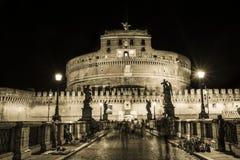 Castle saint'angel στη Ρώμη Στοκ Φωτογραφίες