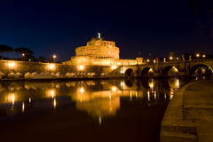 Castle Saint Angel in Rome, Italy Royalty Free Stock Photography