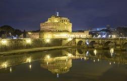 The castle saint angel rome italy europe Stock Photo