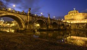 The castle saint angel rome italy europe Royalty Free Stock Photo