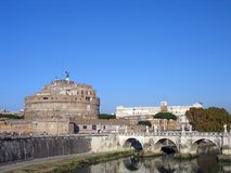 Castle Saint Angelo Royalty Free Stock Images