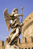 Castle Saint Angelo Statue Royalty Free Stock Photos