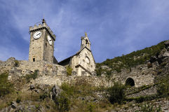 Castle of  Saint Beat, Midi pyrenees, France Stock Photo