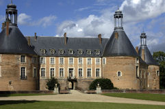 Castle of  Saint Fargeau Royalty Free Stock Photos