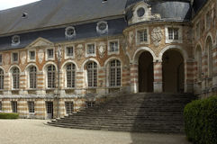 Castle of  Saint Fargeau Stock Image