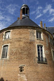 Castle of Saint Fargeau in France Royalty Free Stock Images