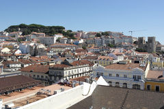 Castle of Saint George, Lisbon, Portugal Royalty Free Stock Images