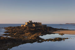 Castle of Saint-Malo Stock Photos