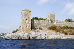 Castle of Saint Peter in Bodrum Stock Image
