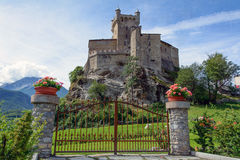 Castle of Saint Pierre Royalty Free Stock Photography
