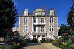 Castle Sainte-Gemmes-sur-Loire, Loire valley Stock Photo