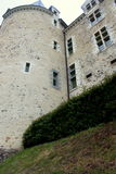 The castle of Sainte Suzanne Royalty Free Stock Photo