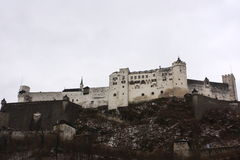 Castle of Salzburg Stock Image