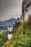Castle in Salzburg, Austria Royalty Free Stock Image