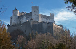 Castle salzburg Stock Photography