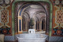 Castle Sammezzano,  bathroom Royalty Free Stock Photos