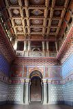 Castle Sammezzano, living room interior Royalty Free Stock Photography