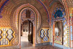 Castle Sammezzano, room Royalty Free Stock Photography