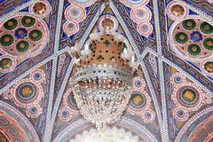 Castle Sammezzano, vaulted ceiling Royalty Free Stock Images