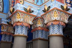 Castle Sammezzano Royalty Free Stock Images