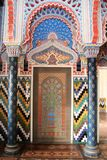 Castle Sammezzano, wall particular Stock Images