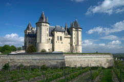 Castle of Samur Royalty Free Stock Images
