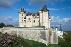 Castle of Samur Stock Images