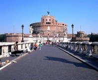 Castle SAN Angelo, Ρώμη Στοκ Εικόνα