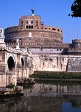 Castle San Angelo, Rome, Italy. Royalty Free Stock Photo