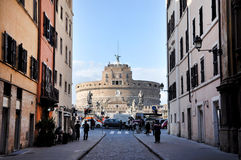 Castle San Angelo in Rome, Italy Royalty Free Stock Image