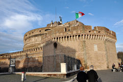 Castle San Angelo in Rome, Italy Stock Photo