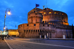 Castle San Angelo in Rome, Italy Royalty Free Stock Photos