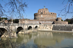 Castle San Angelo in Rome, Italy Stock Photography