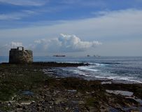 Castle of San Cristobal, Las Palmas royalty free stock images