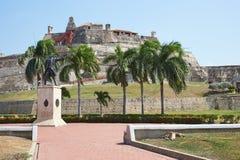 Castle of San Felipe De Barajas Stock Photography