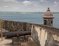 Castle San Felipe del Morro Cannon Emplacement Stock Photo