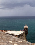 Castle San Felipe del Morro Lookout Station Royalty Free Stock Photo