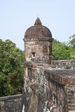 Castle San Fernando de Omoa. Constructed by the Spaniards was finalized in 1775 Stock Photo