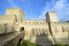 Castle of San Jorge Royalty Free Stock Photo