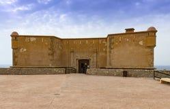 Castle at San Juan De Los Terreros Royalty Free Stock Image
