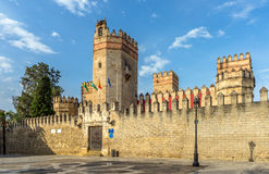 Castle San Marcos. Entrance to the Castle San Marcos. A 13th century structure built by Alfonso X of Castile royalty free stock photos