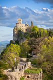 Castle in San Marino - La Cesta or Fratta, Seconda Torre Royalty Free Stock Photos