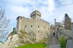 Castle of San Marino Stock Image